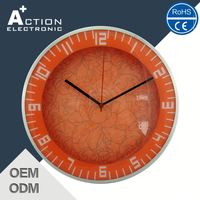 Durable Super Quality Lowest Price Metal Wall Clock Industrial Style