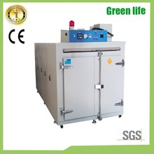 Industrial heating equipment has PID controller, double sided overheating protection air circulating oven