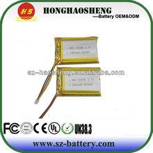 rechargeable li-ion battery 3.7v 1800mah