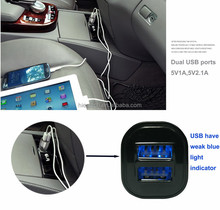 car mobile charger car charger dual usb mini for ipad ,ipod, tablet apple iphones 5s 16gb unlockedand for philips hq8505