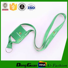 Idea for sample polyester cell phone holder neck lanyard with plastic clip