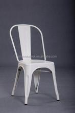 Industrial Side Chair Matte Finish Garden Chair