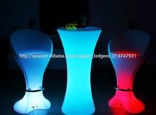 Cool Bar / club / partido / la boda / KTV / hotel flotante impermeable muebles llevado lámparas de mesa taburete de la barra