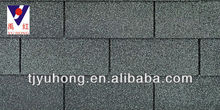Single layer asphalt shingles