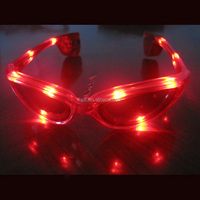 Cheap economic glowing led party sunglasses