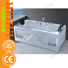 RC-D793 multi jets whirlpool free standing bathtub and plastic suction with bathtub with certification
