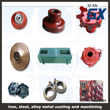 precision casting forklift parts water /charging pump