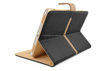 For ipad air 2 leather case 360 degrees rotating stand case