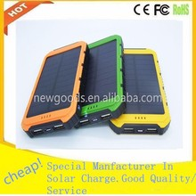 portable power bank solar panel 5000mah solar power bank