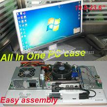 """todo en uno pc construido- en todo en uno pc caso 23.6"""" de led monitor de la computadora de escritorio sin de la cpu"""