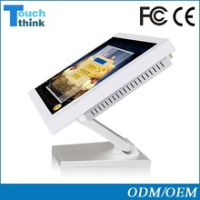 "19"" all in one touch screen pc folded stand wholesale price"