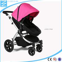 China New Model Universal front wheel Aluminium tube pram baby carrier