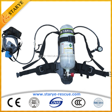 Diving Rescue Used Good Quality Fireman Protection Air Breathing Apparatus