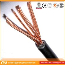300/500V numbering electrical cables copper/pvc insulated cable 6mm