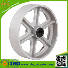 Cast iron wheels for industrial equipment, material handling equipment wheel with ISO/SGS