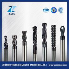 6 flute carbide end mill coated 16mm finishing end mills with high quality