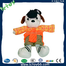 plush stuffed toy with orange color
