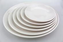 Set de platos de melanina redondos, nuevo diseño 2014