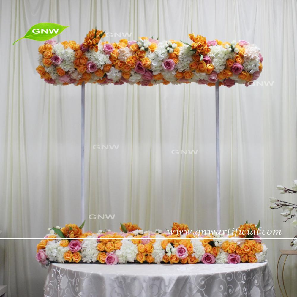Gnw Flw161018 Table Canopy Flower Arrangement Blue Wedding Decor ...