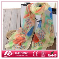 Factory Sale Beautiful Women Wholesale Price 100% Polyester Scarf women paisley scarves pashmina shawl