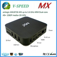 2015 best PRICE android tv box hd free sex videos MX-Amlogic 8726 android tv box cheapest android tv box