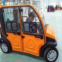 High Speed Electric Mini Sedan of 4 seater 4 doors type