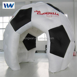 outdoor football inflatable advertising tent for promotion