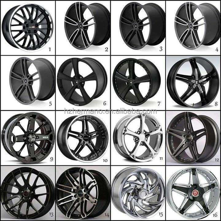 Rim Design Rim 18 20inch New Design Matt