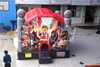 China factory inflatable cartoon bouncer castle