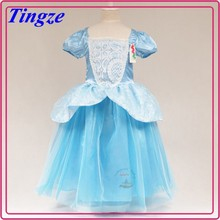 2015 girl's summer cinderella dress cosplay costume provided by china supplier HZC21