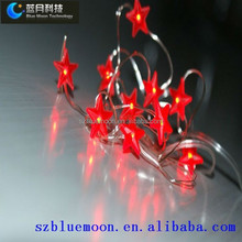 Star shape red star modelling series light with high quality and newest technology SMT machine for all bulbs