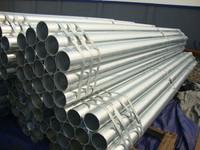 round galvanized ERW steel pipe