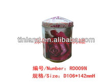 Europe music tin box for gifts for children