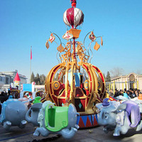Best Popular! Carnival Rides Sale Flying Elephant/China Theme Park Equipment Divine Dumbo Rides for sale