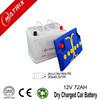 12V 72ah Best Price Dry Car Battery