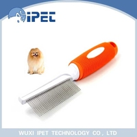 Good supplier stainless steel pin brush for small hair dog