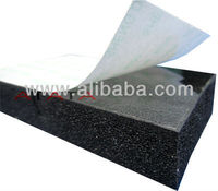 closed cell rubber foam insulation roll for building material