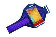 Mesh neoprene designer cell phone pouches mobile phone arm holder