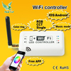 Wifi Wireless RGB LED Strip Controller for iOS iPhone iPad Android Smartphone Tablet wifi artnet dmx remote controller