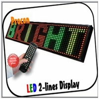 programmable led sign Leeman mini led name tag led message display fan