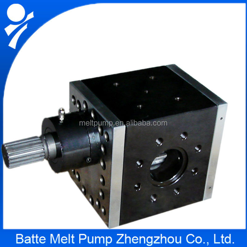 High Pressure Extruder : High pressure metering gear pump for plastic extrusion