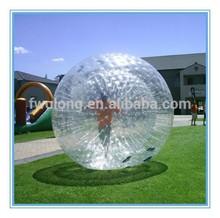 Big air inflable bola de la burbuja humana, bola inflable del zorb para bowling mejor vendedor