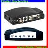 BNC AV S-Video RCA to VGA Converter Adapter,BNC TO VGA RCA Composite Video Converter