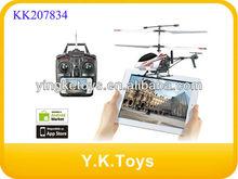 Wifi de radio control helicóptero con el girocompás( real- tiempo de transmisión de vídeo) jxd352w