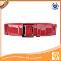 The real leather belt process manufacturing