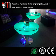 Hot!!! Rechargeable Led Light Coffee Table / Modern Coffee Table