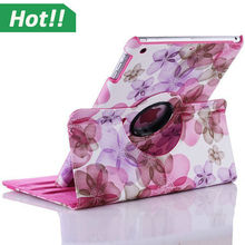 For iPad 2345 360 Rotating Magnetic PU Leather Case Smart Cover Stand