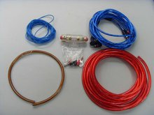 4GA high level OFC car audio&vedio Amplifier Wiring Kits(OEM/ODM)