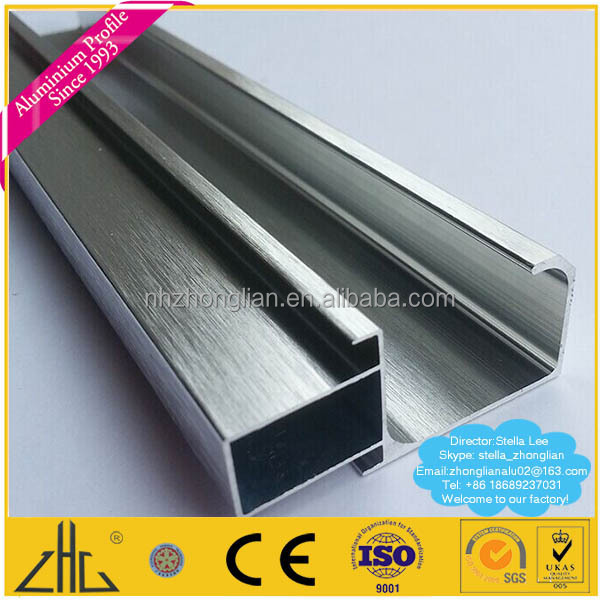 Wow!! Aluminium Door Handle Frame Price/aluminium Profile For ...