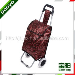 grocery shopping cart plastic crate with double cover
